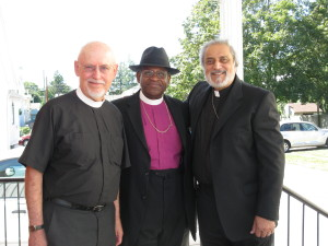 Father John, Bishop, and Father Sud